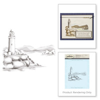 Spellbinders 3D Shading Stamps - Lighthouse