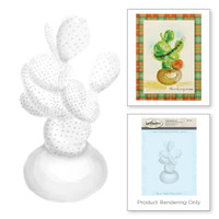 Spellbinders 3D Shading Stamps - Prickly Pear