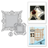 Spellbinders Card Creator Etched Dies Rebel Rose By Stacey Caron - Rebel Jewels