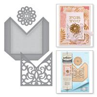 Spellbinders Shapeabilities Etched Dies Amazing Paper Grace Vintage Elegance By Becca Feeken - Filigree Pocket