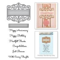 Spellbinders Stamp and Die Set Amazing Paper Grace Vintage Elegance By Becca Feeken - Giving Occasions