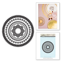 Spellbinders Stamps - Circle Eloquence