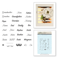 Spellbinders Stamps - Classic Spellbinders Loved Ones