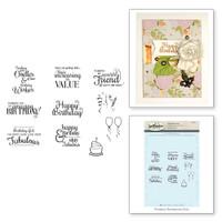 Spellbinders Stamps - Classic Spellbinders Special Birthday Sentiments
