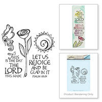 Spellbinders Stamps Bible Journaling By Joanne Fink - This is The Day