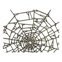 Sizzix Thinlits Dies By Tim Holtz - Cobweb