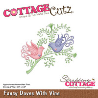 CottageCutz Dies - Doves & Vine