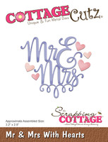 CottageCutz Dies - Mr & Mrs With Hearts