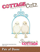 CottageCutz Dies - Pair Of Doves
