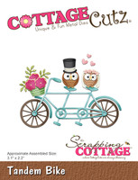 CottageCutz Dies - Tandem Bike