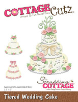 CottageCutz Dies - Tiered Wedding Cake