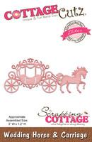 CottageCutz Elites Dies - Wedding Horse & Carriage