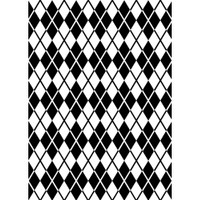 Darice 5 x 7 Embossing Folder - Argyle Background