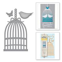 Spellbinders Die D-Lites By  - Bird Cage