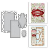 Spellbinders Shapeabilities By Stacy Caron - Intertwined