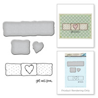 Spellbinders Stamp & Die Set By Tammy Tutterow - Get Well Soon