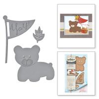 Spellbinders Shapeabilities By Debi Adams - Bear Scout