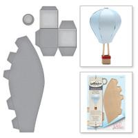 Spellbinders Shapeabilities By Debi Adams - Hot Air Balloon
