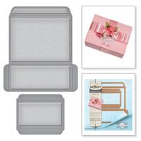 Spellbinders Shapeabilities By Becca Feeken - Mini Card/Booklet Gift Box