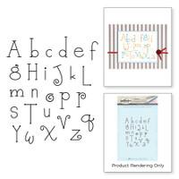 Spellbinders Stamps By Debi Adams - Whimsy Alphabet