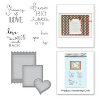 Spellbinders Stamp & Die Set By Debi Adams - Labels of Love