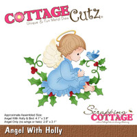 CottageCutz Dies - Angel With Holly