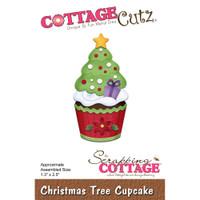 CottageCutz Dies - Tree Cupcake