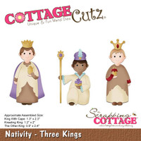 CottageCutz Dies - Three Kings