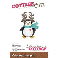 CottageCutz Dies - Reindeer Penguin
