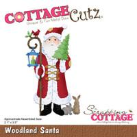 CottageCutz Dies - Woodland Santa