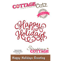 CottageCutz Elites Dies - Happy Holiday Greeting