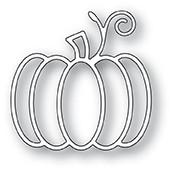 Memory Box Poppystamps Dies - Swirl Pumpkin