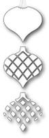 Memory Box Craft Dies - Classic Ornament Triplet