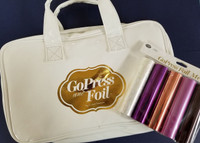 Couture Creations Go Press & Foil Bag with 5 New Color Foils