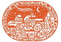 Simply Defined Dies Set - Winter's Wonder, Nordic Village