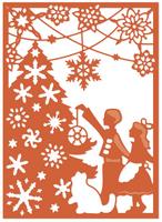 Simply Defined Dies Set - Winter's Wonder, Adorn The Tree