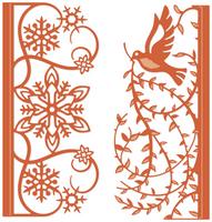 Simply Defined Dies Set - Winter's Wonder, Contour Edges A2 (Not Part of the Bundle)