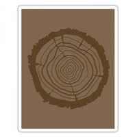 Sizzix Bigz Die With Texture Fades by Tim Holtz - Tree Rings