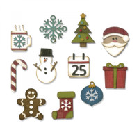 Sizzix Thinlits Die Set 11PK by Tim Holtz - Mini Christmas Things