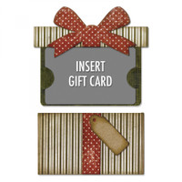 Sizzix Thinlits Die Set 6PK by Tim Holtz - Gift Card Package