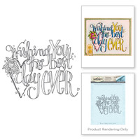 Spellbinders 3D Shading Stamps Tammy Tutterow Collection: Wishing You The Day
