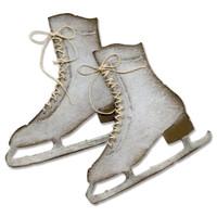 Sizzix Bigz Die By Tim Holtz - Ice Skates