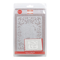 TrimCraft First Edition Christmas Craft A Card Die - Happy New Year
