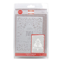 TrimCraft First Edition Christmas Craft A Card Die - With Love