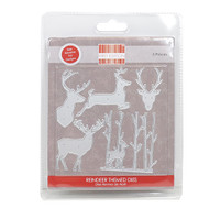 TrimCraft First Edition Christmas Dies - Reindeers