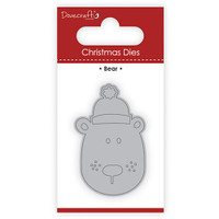 TrimCraft DoveCraft Christmas Dies - Bear