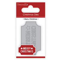 TrimCraft DoveCraft Christmas Dies - Merry Christmas