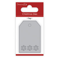 TrimCraft DoveCraft Christmas Dies - Tag