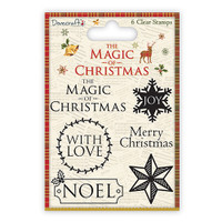 TrimCraft DoveCraft The Magic Of Christmas Sentiment Stamps