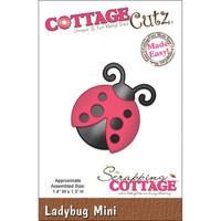 CottageCutz Mini Die - Ladybug Made Easy